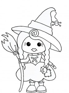 witch coloring page for kids (4)