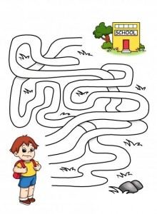 Back-to-School-Printable-Maze-Game-For-Kids