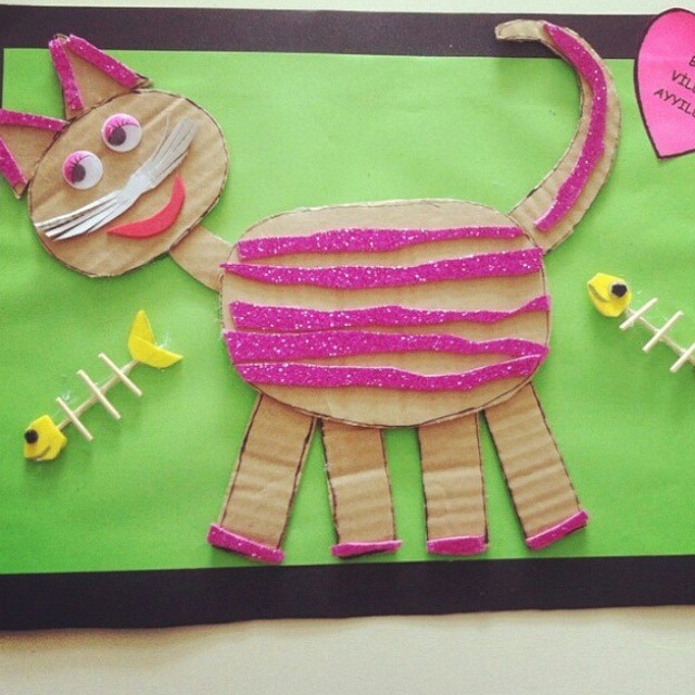 Cat Craft Projects idea for kids