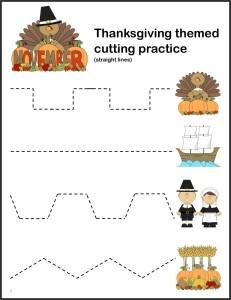 Thanksgiving-Cutting-Practice