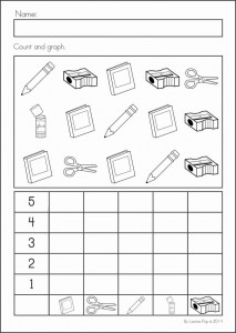 math worksheet : back to school worksheet for kids  crafts and worksheets for  : Graphing Worksheets Kindergarten