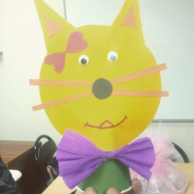 cat craft idea for kids (8)