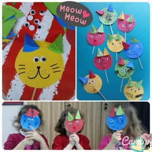 cat puppet craft