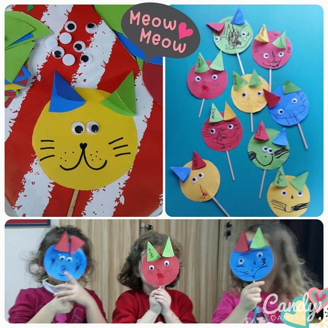 cat puppet craft