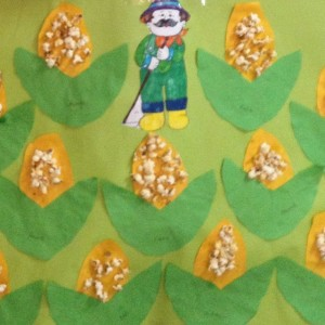 corn craft idea for kids (3)