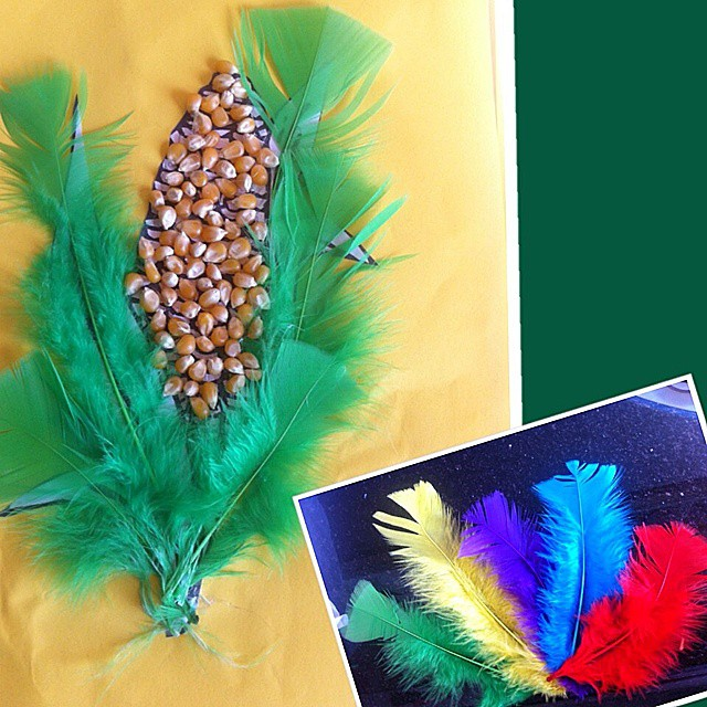corn craft idea