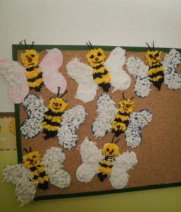 free bee craft idea (10)
