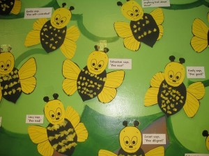 free bee craft idea (3)