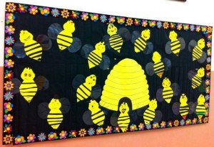 free bee craft idea (4)