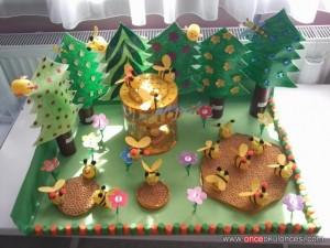 free bee craft idea (5)