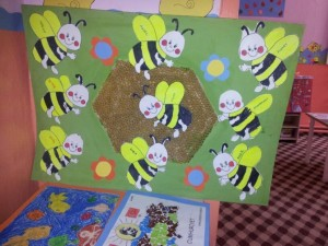 free bee craft idea (7)