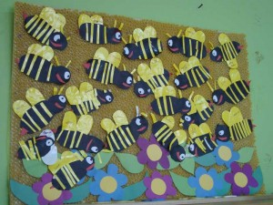 free bee craft idea (8)