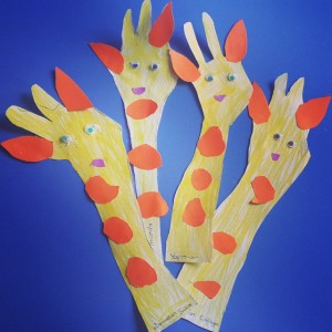 giraffe craft idea for kids (5)