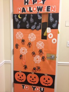 halloween door decoration idea