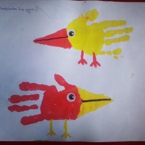 Bird craft idea for kids Crafts