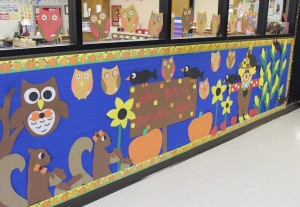 octaber bulletin board idea for kids (1)