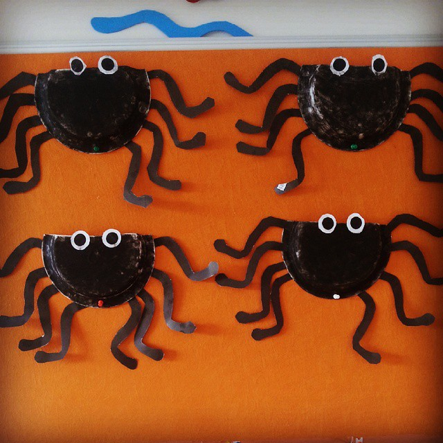paper plate spider craft & paper plate spider craft | Crafts and Worksheets for Preschool ...