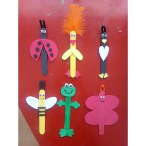Popsicle stick craft idea for kids