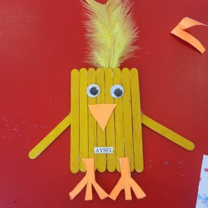popsicle stick chick craft