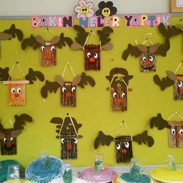 popsicle stick deer craft