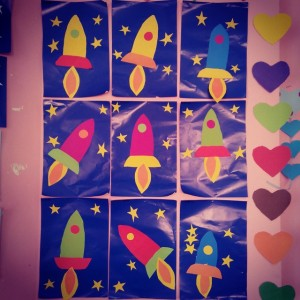 rocket craft idea for kids