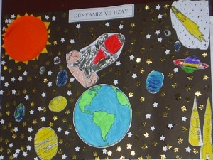 space bulletin board idea (3)