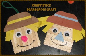 stick scarecrow craft