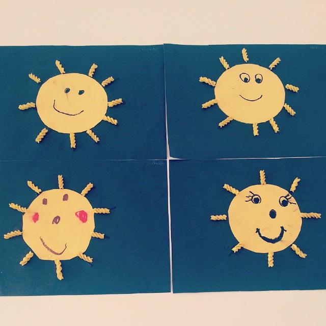 sun craft idea
