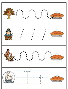 thanksgiving trace line