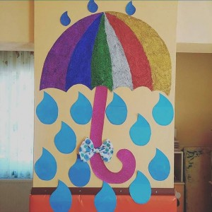 umbrella bulletin board