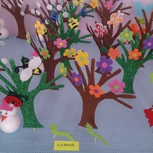 4 seasons craft idea for kids (3)