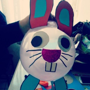 balloon rabbit craft