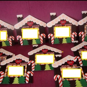 christmas frame craft