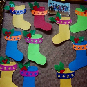 christmas socks craft (2)