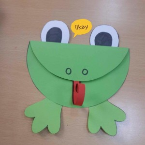 Frog pattern for kids for Frog crafts for preschoolers