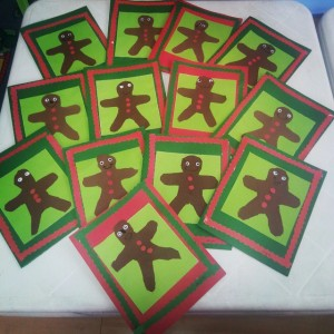 ginger man card craft