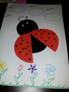 ladybug craft idea for kids (1)
