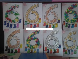 Numbers Craft Idea For Kids Crafts And Worksheets For