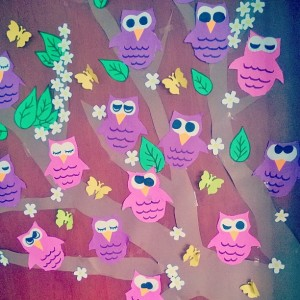 owl bulletin board idea (1)