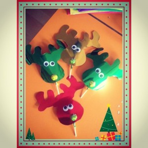 reindeer craft idea