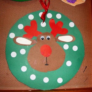 reindeer craft idea for kids