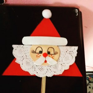 santa claus craft idea