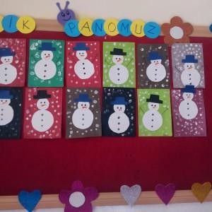 snowman craft idea for kids (2)