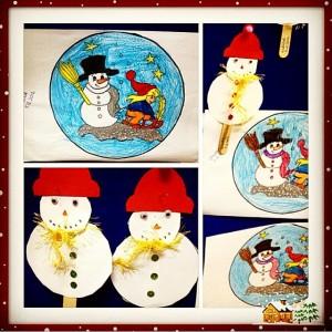 snowman craft idea for kids (4)