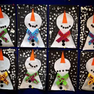 snowman craft idea for kids (7)
