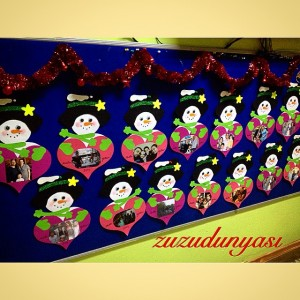 snowman frame craft