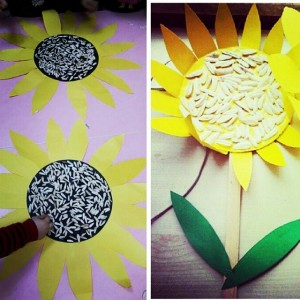 sunflower craft idea