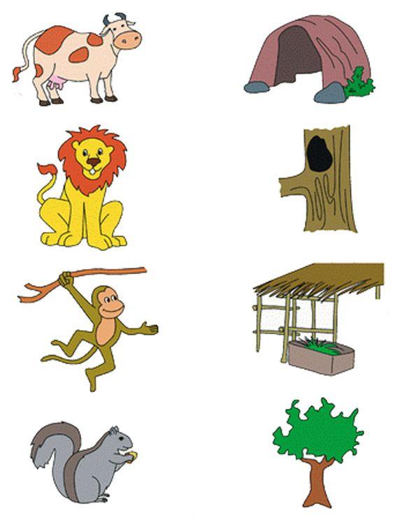 animal habitat worksheet for kids (2)