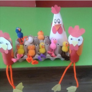 chicken craft idea