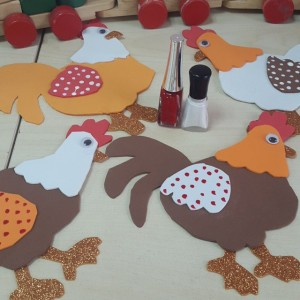 chicken craft idea for kids (1)